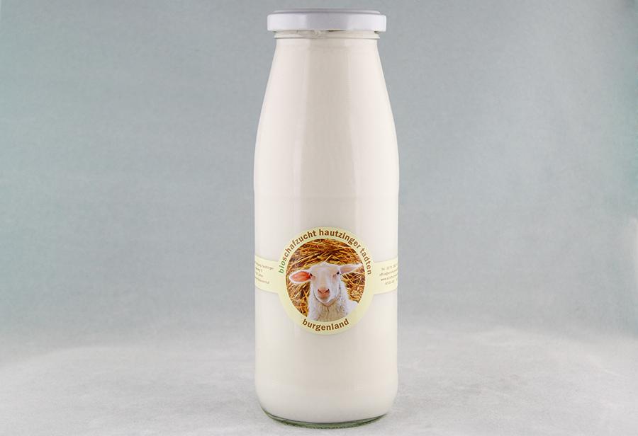 Bio Schafmilch von der Schafzucht Hautzinger